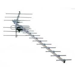 ANTENA UHF KAN 21-69 SYMETR DVB-T HN40F 8-12dB   1