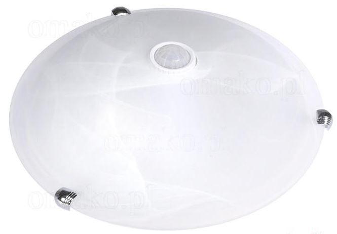 PLAFON  LED E27x2 mikrofalowy czujnik ruchu PIR 1