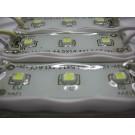 MODUŁ LED 3x3528 12V 0,24W IP67 10000K extra zimny 2