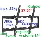 UCHWYT DO TV LCD LED PLASMA DO 35kg 0155 BLACK